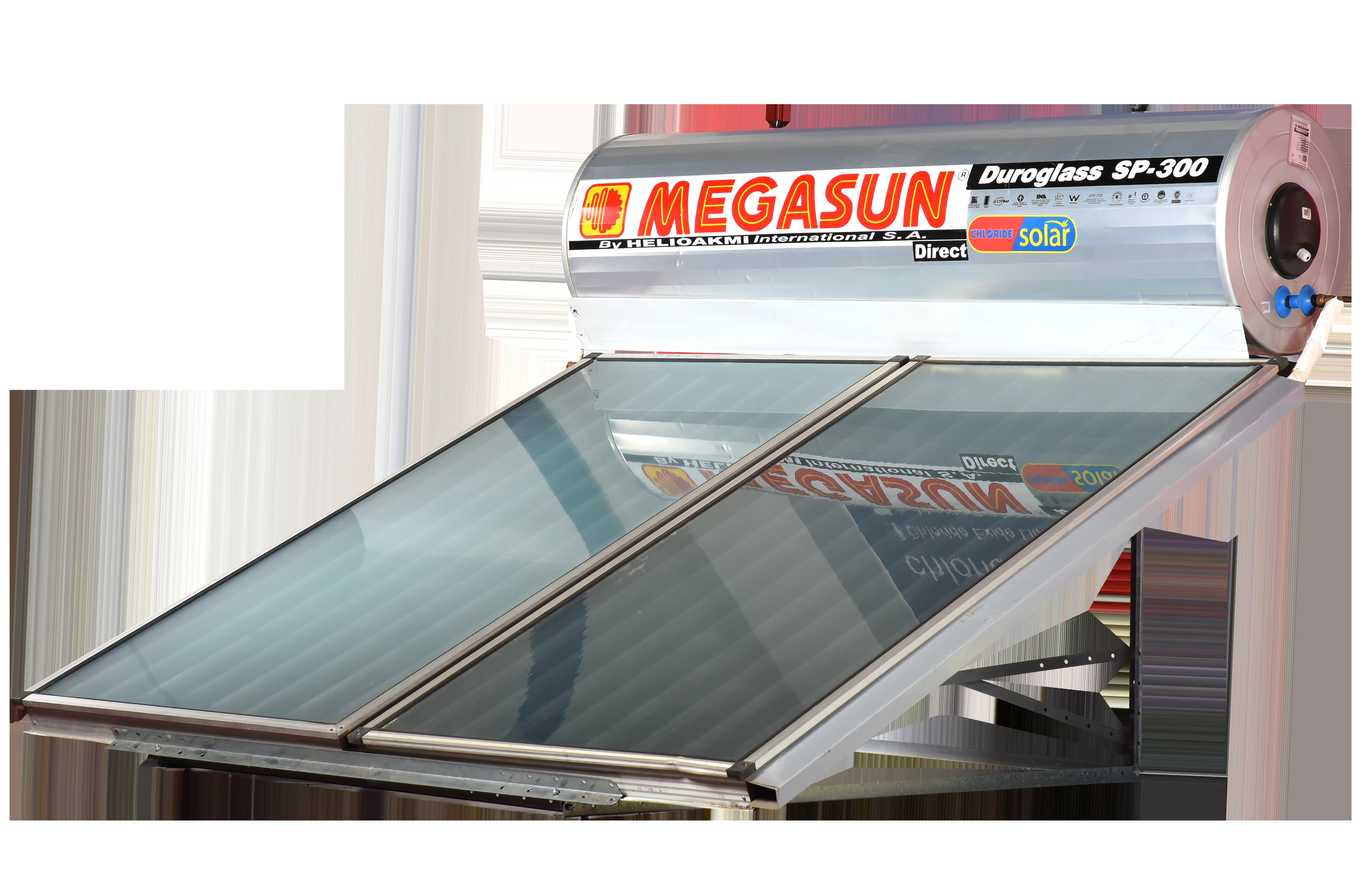 SOLAR 300LTR DIRECT- MEGASUN WHT023