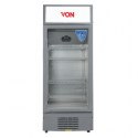 Von HPBC198W/VARV19DAS Vertical Cooler, 188L – White+Grey