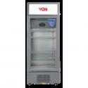 Von HPBC158W/VARV15DAS Vertical Cooler, 150L – White+Grey