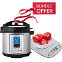 Nutricook NC-SPPR6 Prime Smart Pot Pressure Cooker – 6L GET FREE Nutricook NC-KSE5 EKO Kitchen Weigh Scale