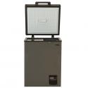 Von VAFC-12DUS Showcase Freezer – Grey