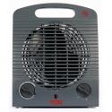 Von VSHJ20FY Fan Heater, 2000W – Grey