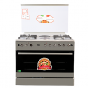 Von F9E50E2/ F9E42G2.IL.S/ VAC9F042WX 4 Gas + 2 Electric Cooker – Stainless steel