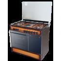 Von 8422NED/VAC9S042CD 4 Gas + 2 Electric Cooker – TDF Dark