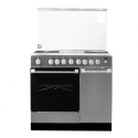 Von VAC9B422X 4 Gas + 2 Electric Cooker – Stainless Steel