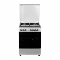 Von VAC6S040UY 4 Gas + 1 Electric Oven – Grey