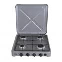 Von 0-440.S / VAC4F400S 4 Gas Cooker – Silver