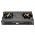 Von VAC7K202T Table Top 2 Brass Burner – Heavy Duty