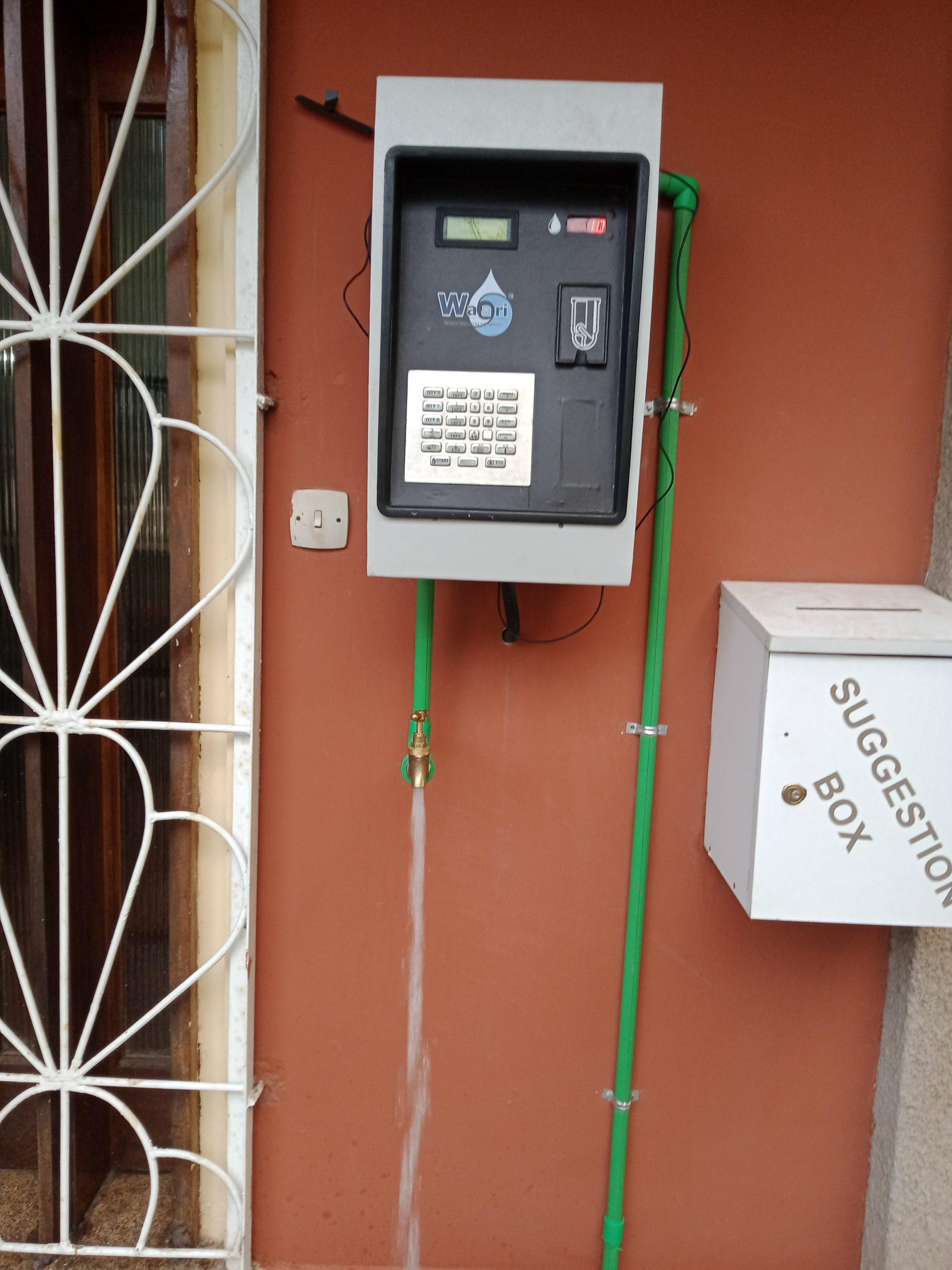 Single Tap Water ATM