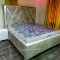 Beautiful 6×6 Strong Wooden Bed