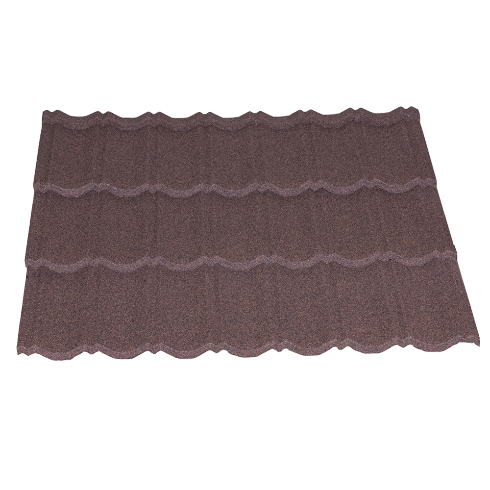 Tactile Stone Coated Steel Roofing Tile Classic Profile