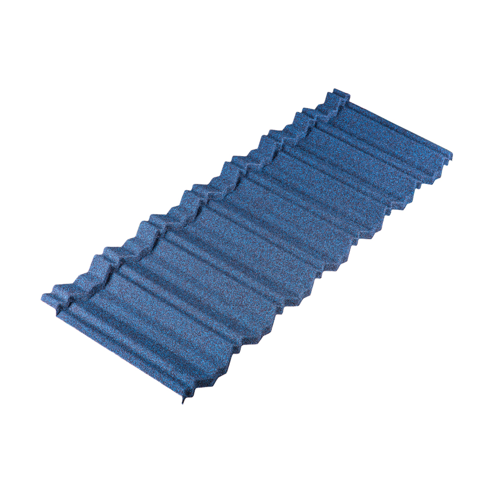 Tactile Stone Coated Steel Roofing Tile Edge Profile
