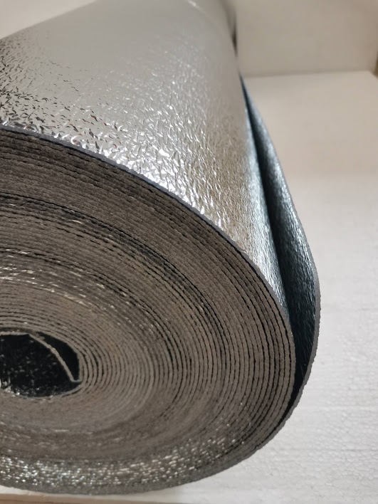 Roof Heat Insulation Double Laminate 50 M x 1.2 M by 2 mm Thickness