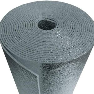 Roof Heat Insulation Single Laminate 50 m by 1.2 m by 5 mm Thickness