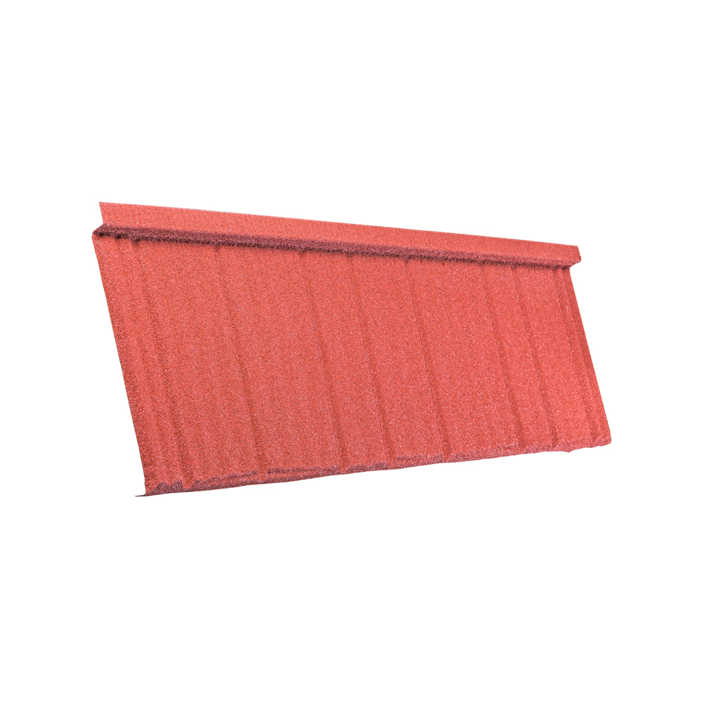 Tactile Stone Coated Steel Roofing Tile Shake Profile