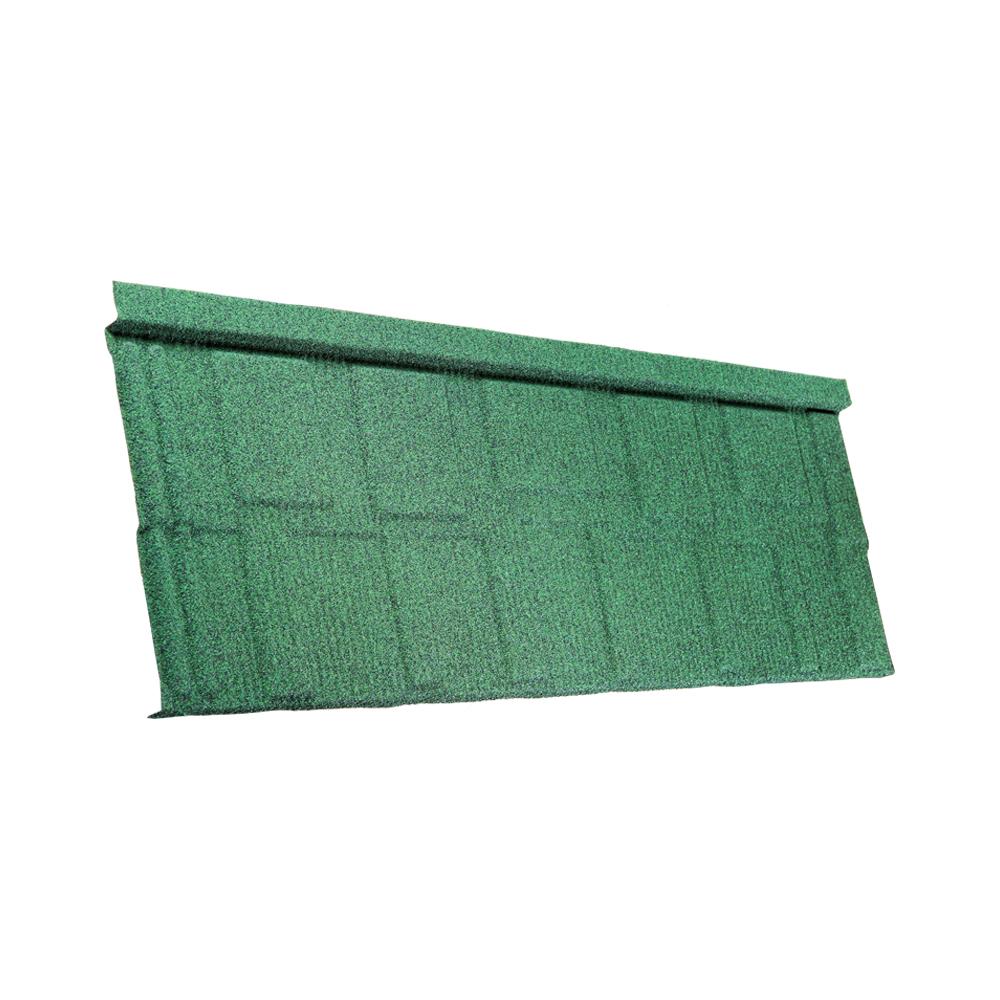 Tactile Stone Coated Steel Roofing Tile Shingle Profile Verde