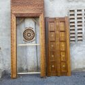 Hand Crafted Lamu Door and Frame