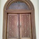 Beautiful Hand-Crafted Lamu Door